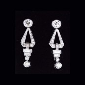 Deco Dangly Earring