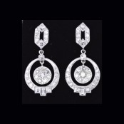 Deco Dangly Dics Earrings